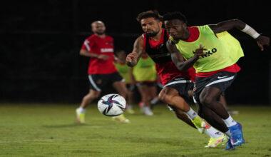 Gaziantep, Antalyaspor maçı hazırlıklarını sürdürdü